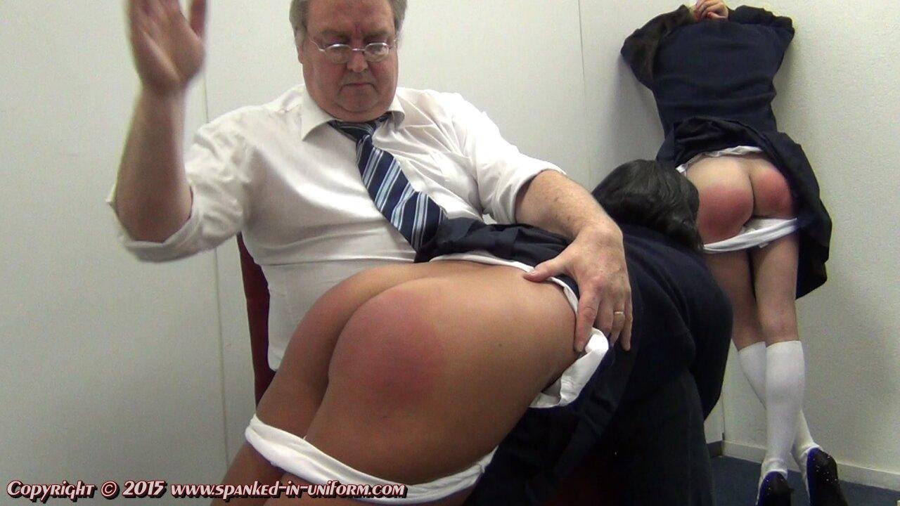 School girl gets punished 5