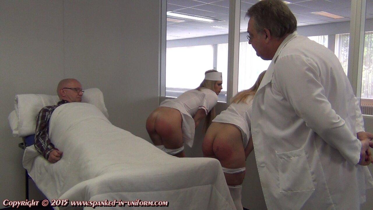 Spanked in uniform porn gif #13